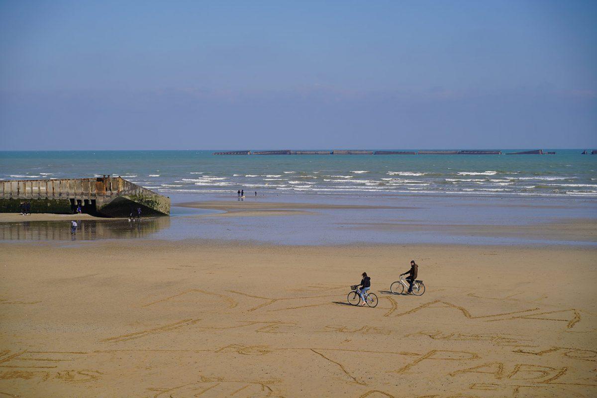 Arromanches sulle spiagge dello Sbarco - D-Day