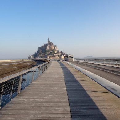 Parcheggio e accesso al Mont-Saint-Michel
