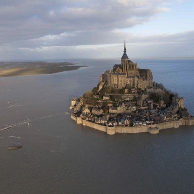 Le maree al Mont-saint michel