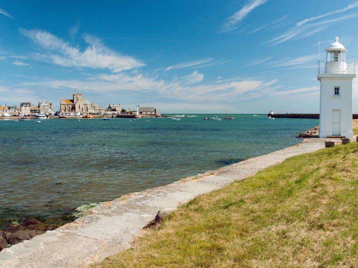 Port de Barfleur dans le Cotentin