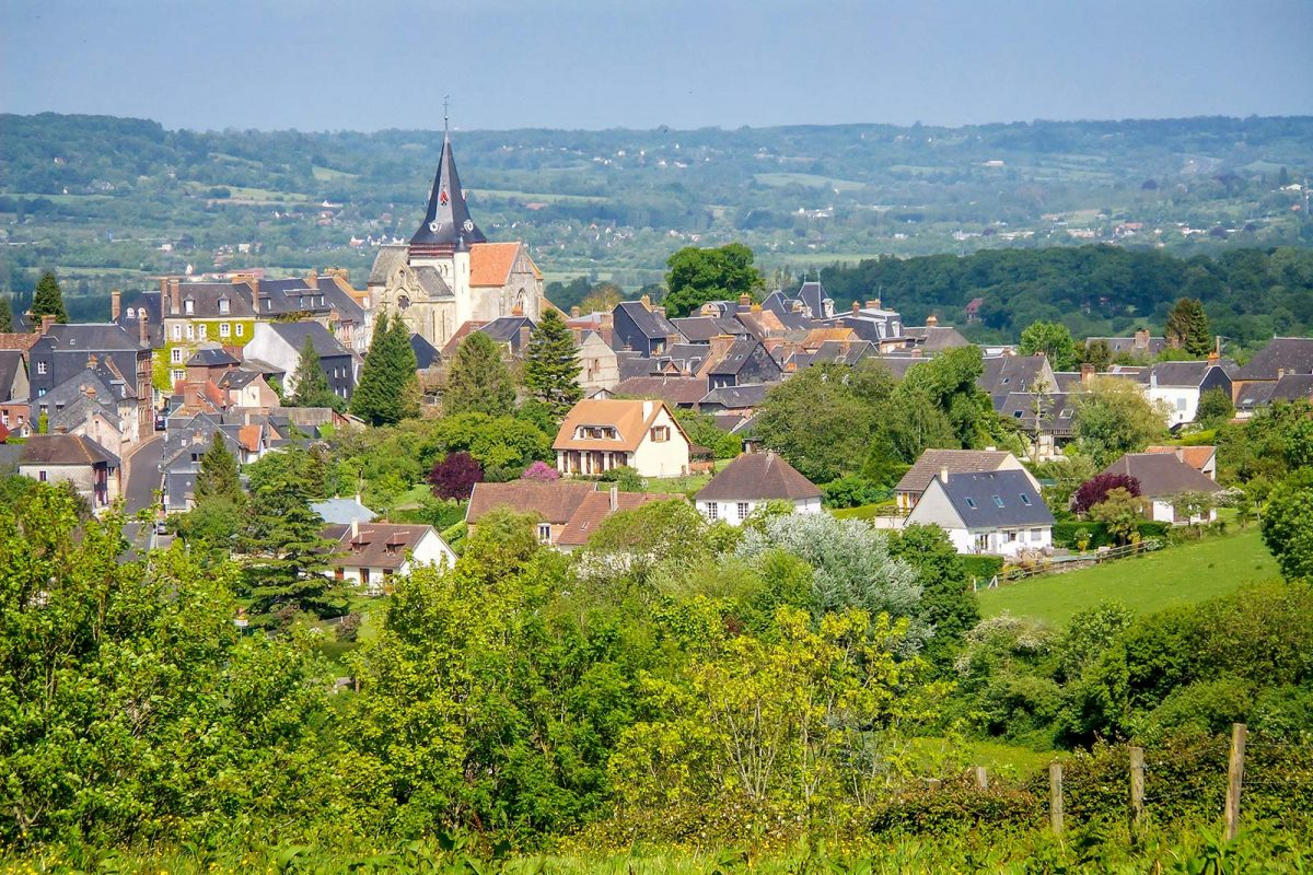 Il villaggio di Beuvron-en-Auge
