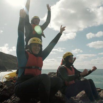 Coasteering nel Cotentin