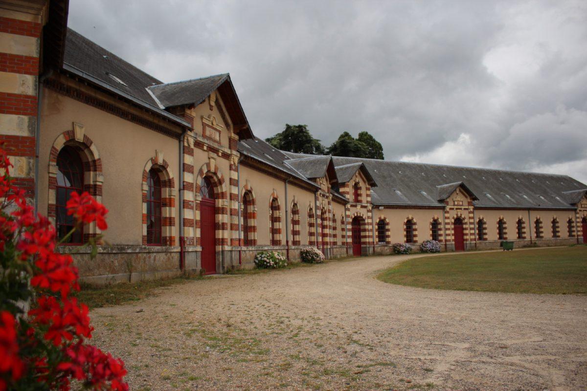 Cour intérieur du pôle de Saint-Lô