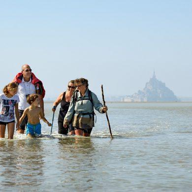Una sensazione di pura libertà nella baia del Mont-Saint-Michel