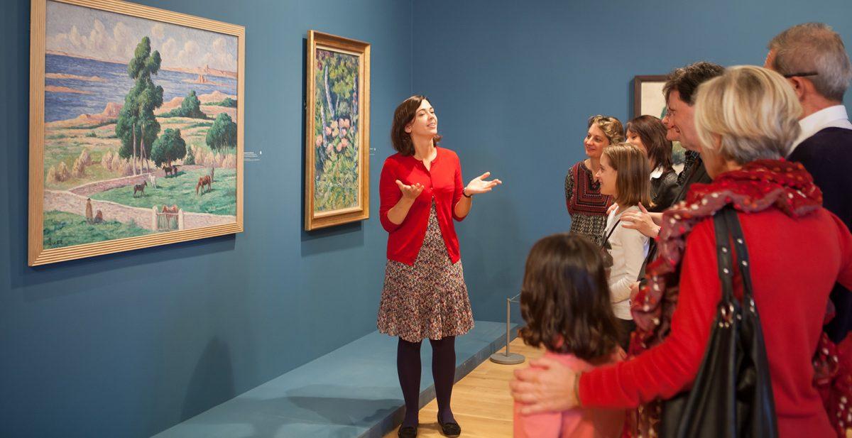 Exposition au musée des Impressionnismes