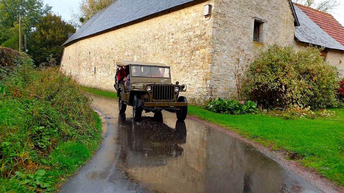 En Jeep sur les plages du D-Day - Expérience