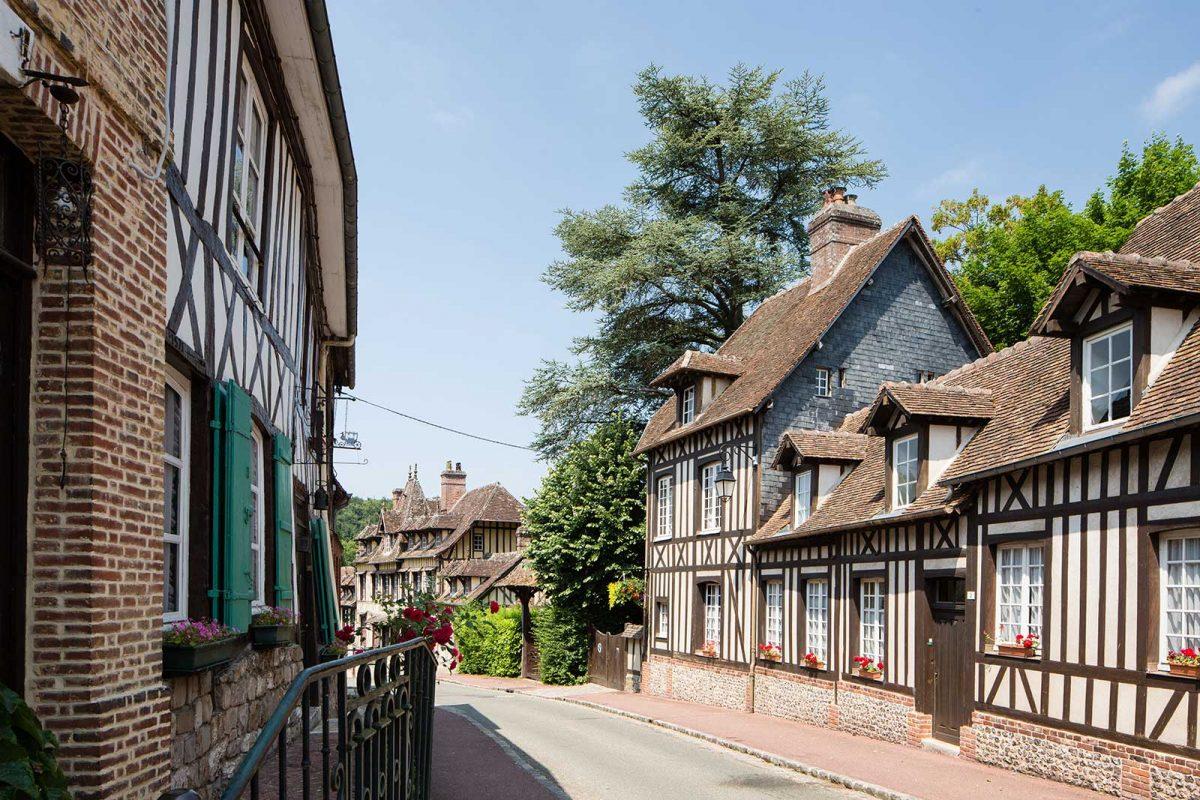 Il villaggio di Lyons-la-forêt