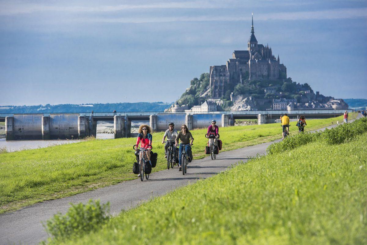 Itinéraire La Véloscénie au Mont-Saint-Michel