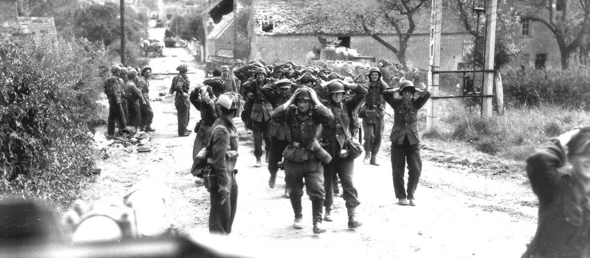 Saint-Lambert - Sacca di Falaise 1944, resa dei soldati tedeschi - Archives D-Day