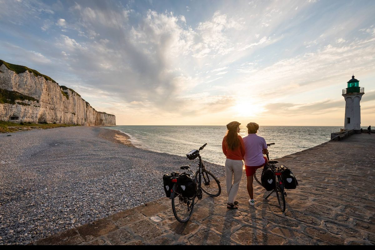 Itinerario vélomaritime a Saint-Valery-en-Caux
