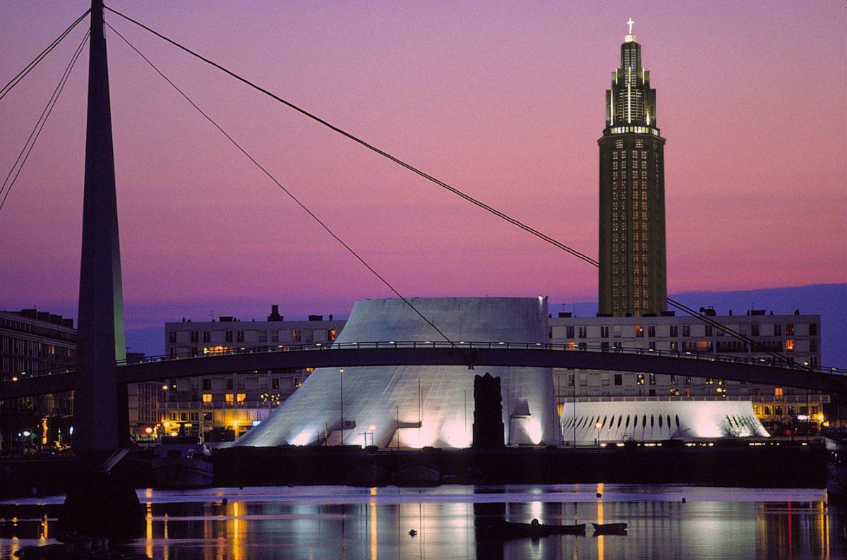 Le Havre de nuit - Volcan