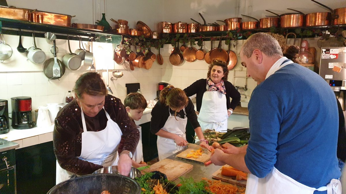 week-end cuisine en famille au chateau de Miromesnil - Expérience