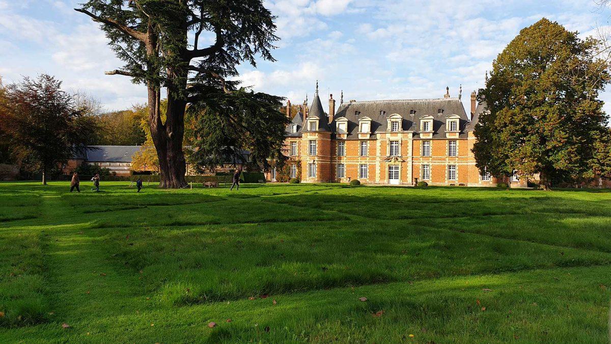 Château de Miromesnil en Seine-Maritime près de Dieppe