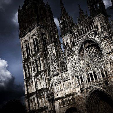 Rouen e i meandri della Senna