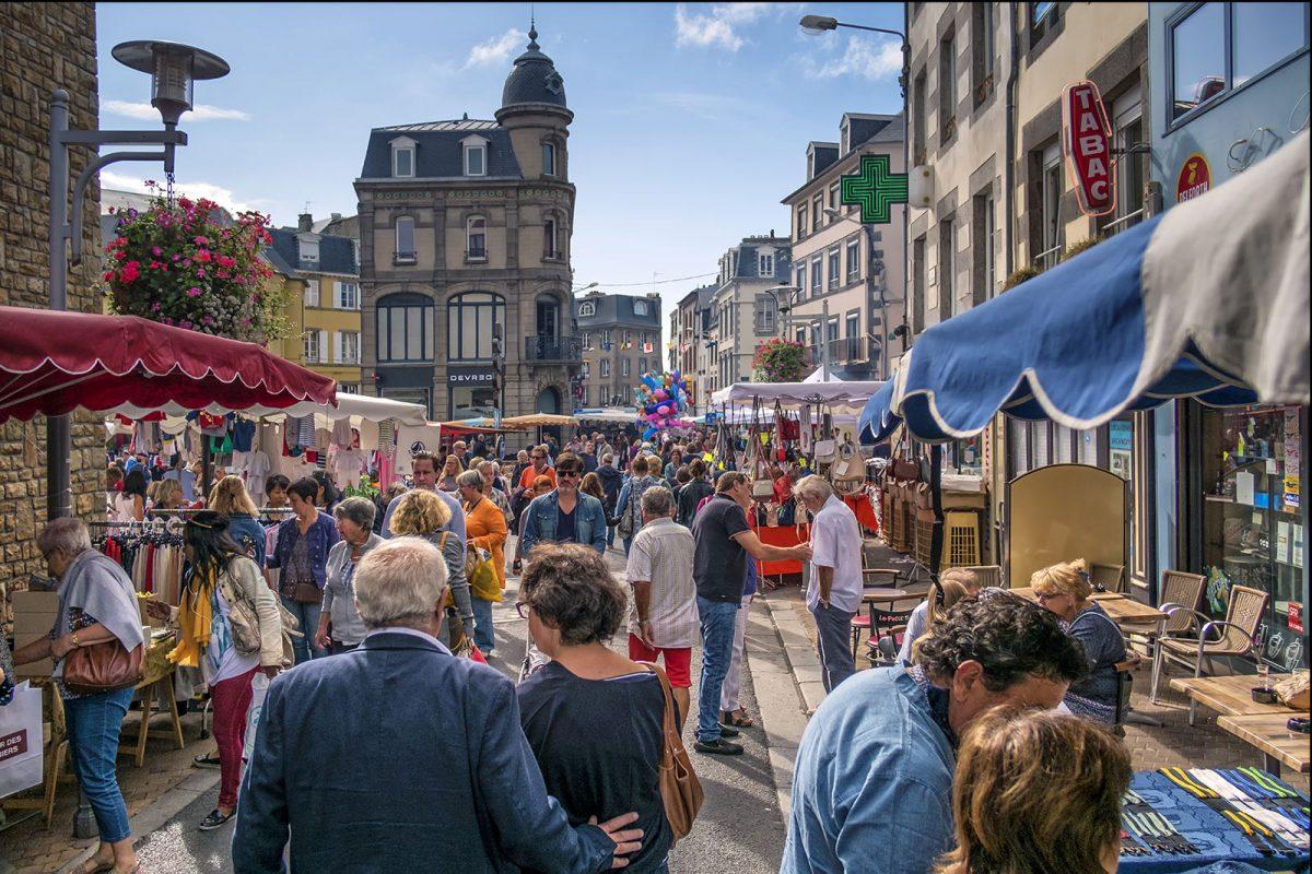 Il mercato di Granville © Marc Lerouge