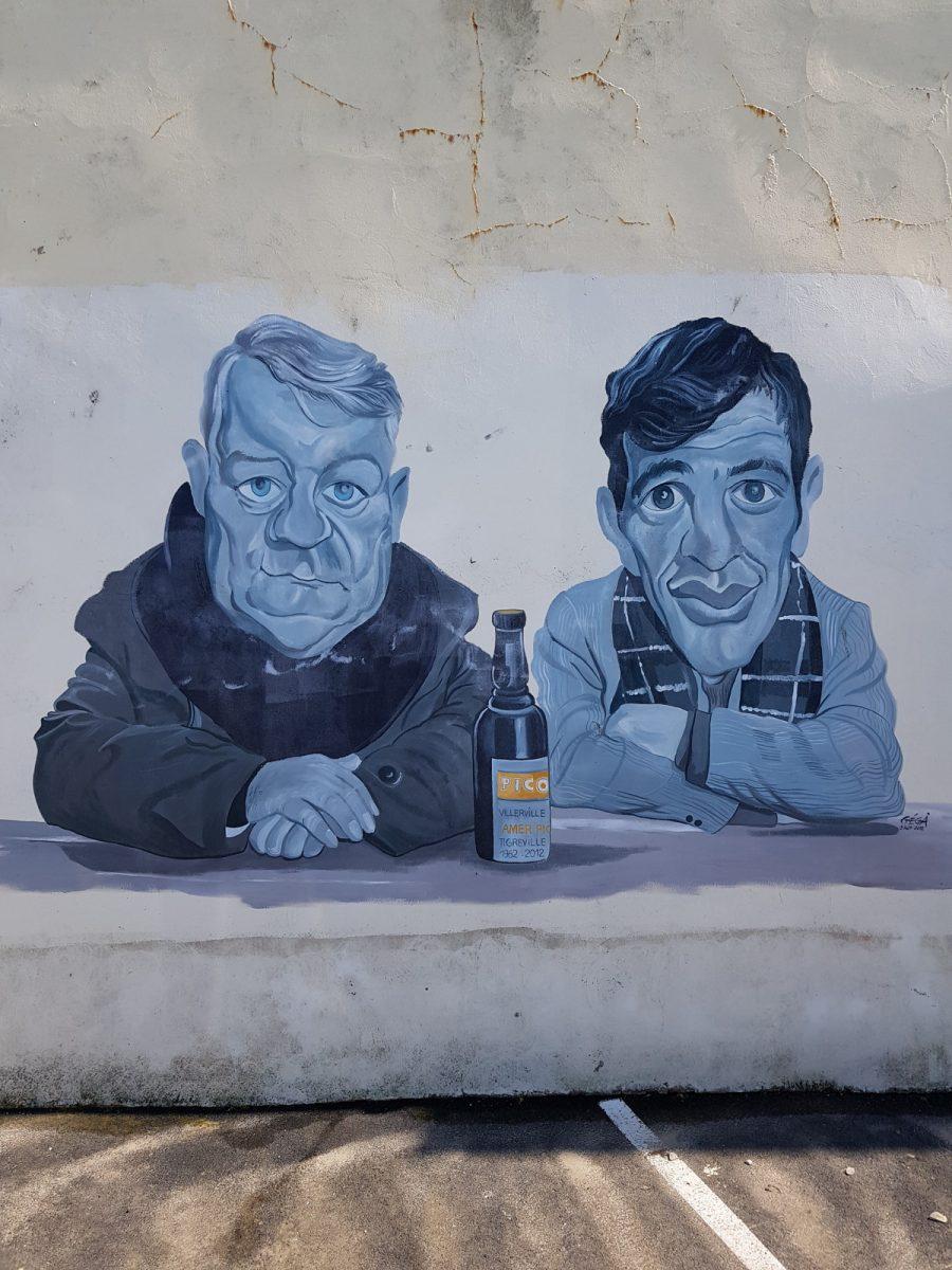 Street art a Villerville © Ben Collier