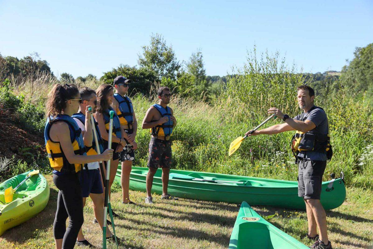 Spiegazioni canoa