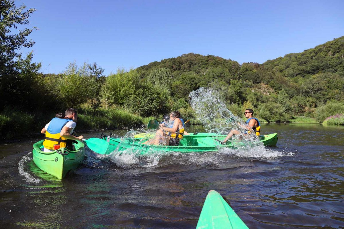 Kayak nella Svizzera normanna