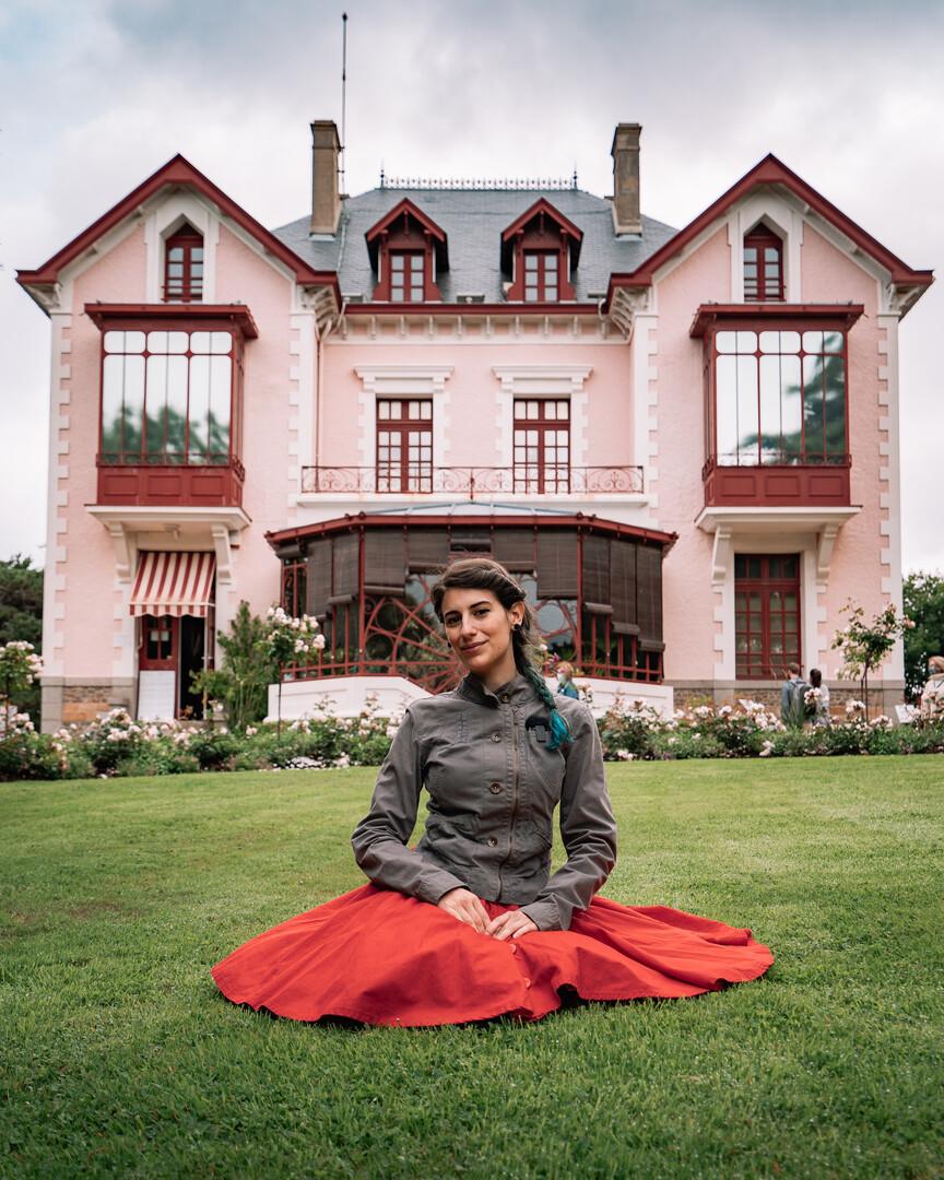 La casa di Dior a Granville